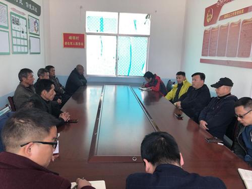 总经理谢兵赴闵孝镇峰坝村调研辣椒产业发展工作