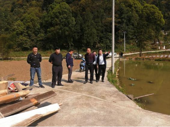 谢兵总经理到江口县民和镇调研农村产业结构调整情况