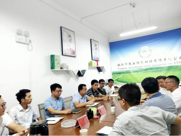 竞技宝官网财农信贷融资担保有限责任公司 召开董事长任职会议